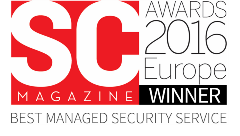 SC Awards Winner - Best Managed Security Service